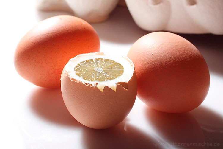 Foto:  Zitrone Ei © www.ThorstenMischke.de Fotodesign Kiel